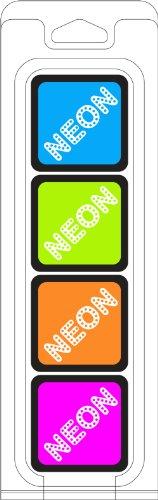 Pigment Ink Pad Spring - Hero Arts AF241 4-Ink Cube Pack, Neon