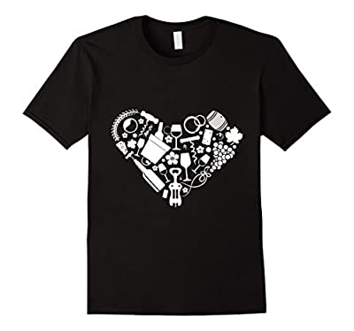 Wine Elements Funny T Shirt