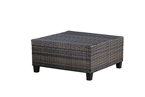 Tampa 7 piece outdoor rattan wicker sofa sectional set Comfortable sunroom furniture