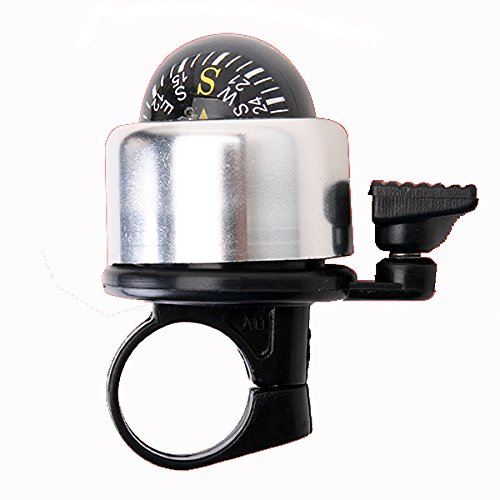 Cycling - New Metal Ring Bicycle Bell For Bike Compass - Bike Bell Compass Bicycle Accessories Handlebar Mount Electronic Motorcycle - 1PCs