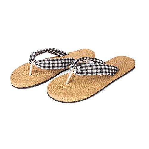 Da Stile Abbigliamento Scarpe Esterno uk4 cn36 Donna Eu36 C Infradito A Xy Spiaggia Ciabatte Marea Di E Flusso colore Estiva Vacanza Dimensioni qtCO0