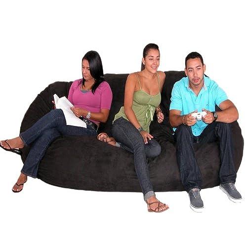 Giant Bean Bag Couch Amazon Com
