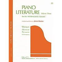 Piano Literature Volume 3