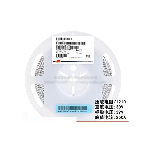 MAO YEYE 50pcs/lot SMD 1210 Voltage Dependent Resistor VDR DC 30V Nominal Voltage 42V FPV322513E300PKT Varistor Resistor
