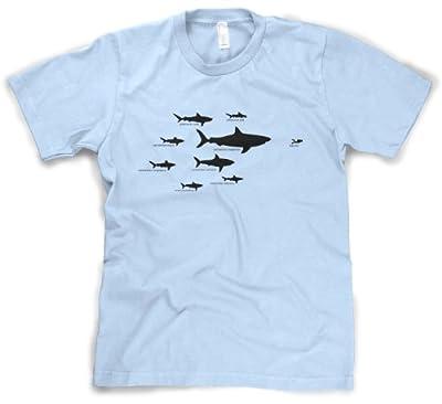 Kids' Shark Hierarchy T Shirt Funny Youth Sharks Shirt I Love Sharks Tee