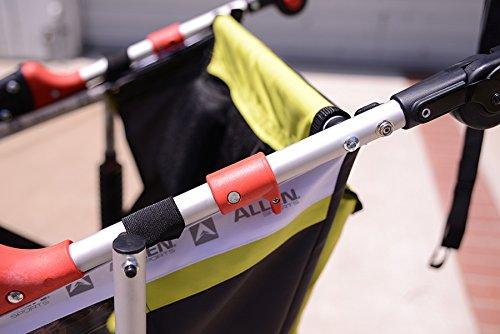 Allen Sports JTX-1 Trailer/Swivel Wheel Jogger, Green by Allen Sports (Image #5)