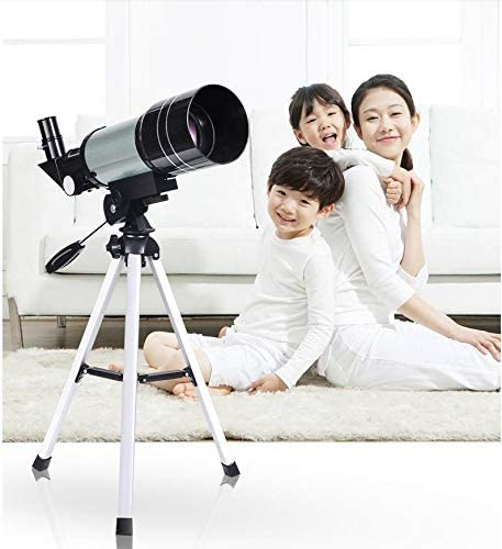 WUAZ Telescopio para Principiantes niños 70mm telescopio Refractor ...