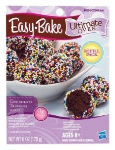 Easy Bake Oven Chocolate Truffle Mixes 6 Oz (Ez Bake Mixes)