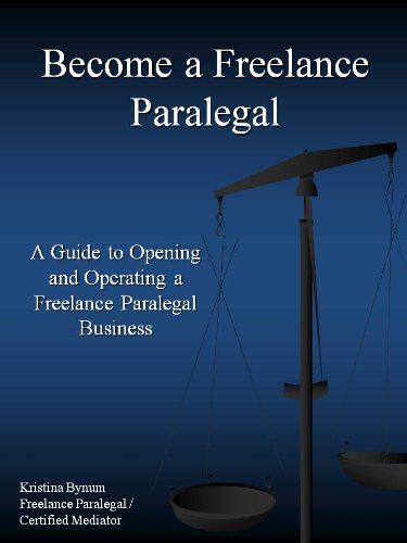 Amazon become a freelance paralegal ebook kristina bynum become a freelance paralegal by bynum kristina reheart Choice Image