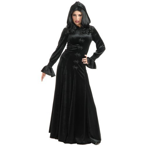 Twilight Hooded Dress Adult Costume Black - X-Large -