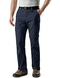 Men's Convertible Pants Zipp Off Stretch Durable UPF 50+ Quick Dry Cargo Shorts Trousers TXP402/TXP401