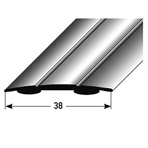 Aluminium eloxiert, mittig gebohrt Typ: 08 /Übergangsprofil // /Übergangsschiene // 58 mm Farbe: BRONZE HELL