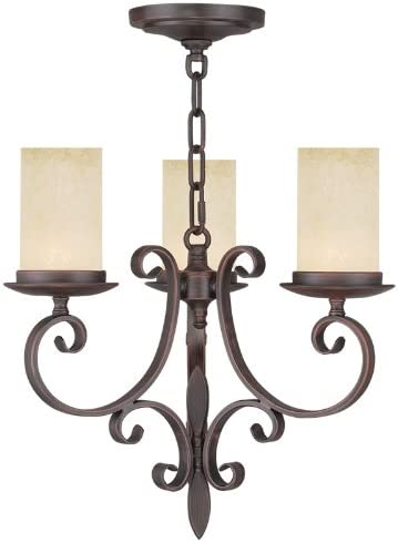 Livex Lighting 5483-58 Millburn Manor 3 Light Mini Chandelier