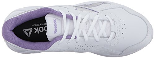 Women's Reebok Silver White Walking V Ultra Violet DMX Metallic Shoe Smoky Max wHgHUfq
