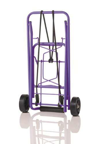 (Travel Smart by Conair 80 lb. Folding Multi-Use Cart; Purple )
