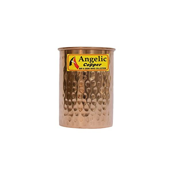 Angelic Copper Water Glass, 260 ml, Brown