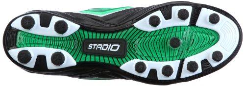 Verde Sportschuhe FUORICLASSE Nero Fußball FG STADIO II Lotto Schwarz Herren 5zqvX6w