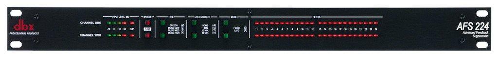 dbx AFS-224 Dual Channel Advanced Feedback Supression Harman Music Group