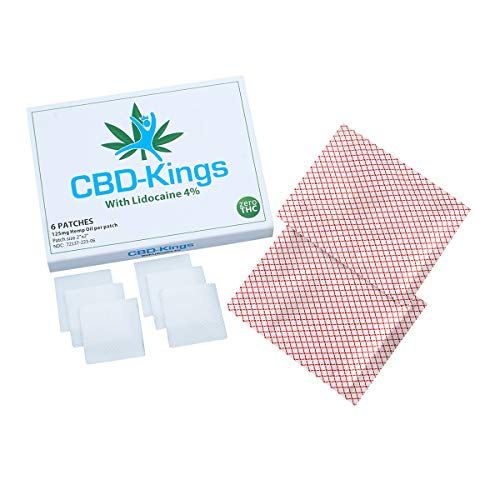 1st-medx Hemp Oil Patch, Pain & Anxiety Relieving Patches for Arthritis, Back Pain, Joint & Muscle Pain, 750MG