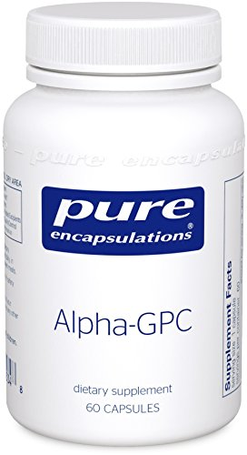 Pure Encapsulations - Alpha-GPC - Water-Soluble Phospholipid Metabolite Supplement - 60 Caplique Capsules