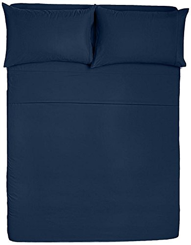 Awesome Angel Bedding Black Friday Cyber Monday Sale Queen Size Sleeper Sofa Sheet Set 62X 74 6 Deep Solid Navy Blue 1800 Series Brushed Machost Co Dining Chair Design Ideas Machostcouk
