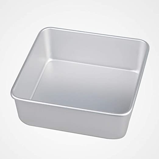 SKYyao Bandejas para hornos,Cuadrado vivo fondo torta molde aleación de aluminio hornear utensilios de hornear platos 22 * 22cm: Amazon.es: Hogar
