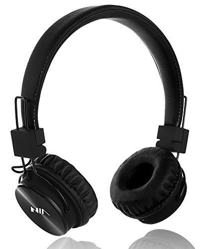 Buy Cheap Wired Kids Headphones with Microphone and share port, Foldable Lightweight Adjustable Ster...