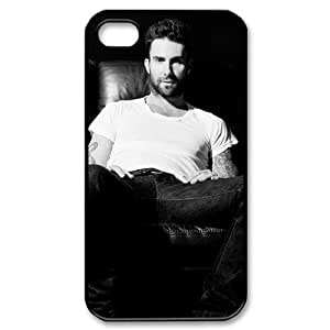 Custom Adam Levine Hard Back Cover Case for iPhone 4 4S CY454