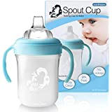 Putti Atti Baby Bottle, Sippy Cup, Spout Type with Handles, BPA Free, 6.8 fl oz