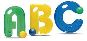 Mayapple Baby® - ABC Teething Letters™ - 3 Silicone Teethers - Kiwi Set