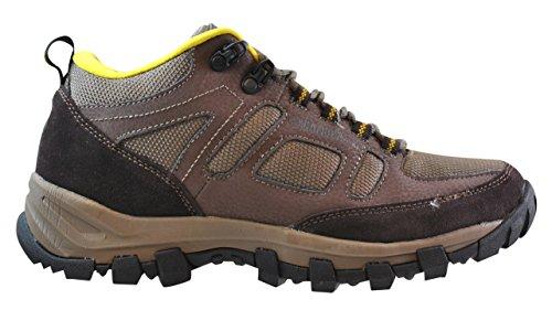 Gander Mountain Mens Trail Climber Sport Low Hiking Shoe  Brown  10 5