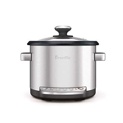 Breville 20-Cup Rice Cooker, Silver finish (Breville Rice Maker compare prices)