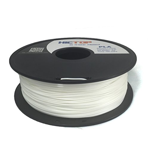 HICTOP-175mm-White-PLA-3D-Printer-Filament-1kg-Spool-22-lbs-Dimensional-Accuracy-005mm-Printer-Filament-PLA