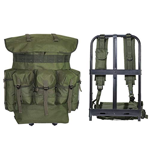 MT Military Surplus Alice Pack Army Survival Combat Alice Rucksack Backpack Olive Drab