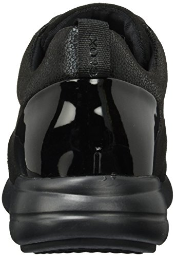 Geox D Ophira a, Zapatillas para Mujer Negro (Black)