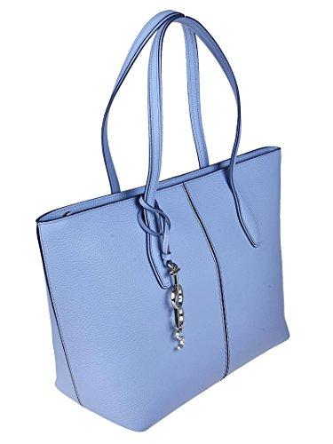 Tods Shopper Joy con Charm Logo Blu XBWANQAA300RIA