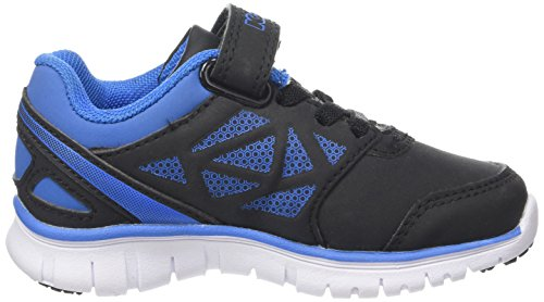Kappa 303N0T0, Zapatillas Bebé Negro/Azul (951 lack/Electric Blue)