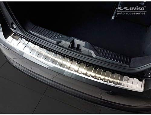 Paraurti Posteriore in Acciaio Inox Compatibile con Ford Fi/ësta MK8 a 5 Porte Ribs 2017 Avisa 2//35409