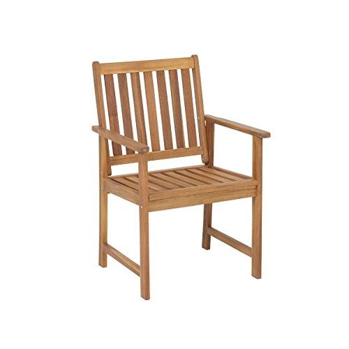 greemotion 126749 Borkum Garden Chair - Acacia