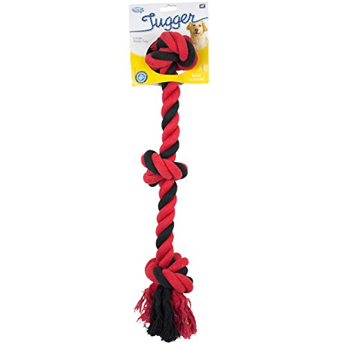 Multi-Colour Tugger Dog Toy, Large