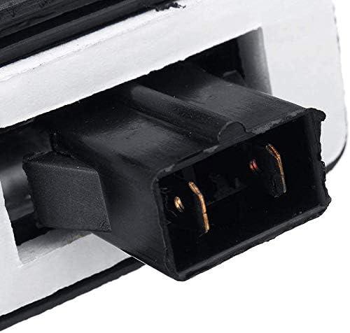 Yaootely 2Pcs Car Number License Plate Light Lamp Fit for Transit MK5 MK6 MK7 4388111