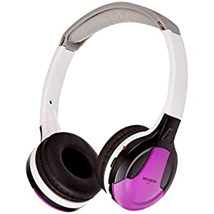 XO Vision Universal IR Headphones – In-Car Wireless Foldable Headphones, DVD Player, In-Car System, Custom Fit, Wireless…