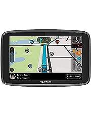 TomTom camper navigatie GO Camper, 6 inch met camper- en caravan-POI's, updates via Wi-Fi, TomTom verkeersinformatie en waarschuwingen voor flitsers via SIM-kaart, wereldkaarten