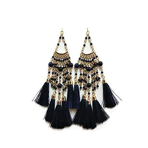 Tassel Earrings Bohemian Dangle Drop Tiered Tassel Earrings for Women Gifts