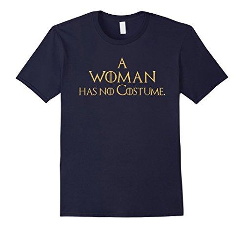 Mens Easy Last Minute Halloween Costume Shirt for Women GoT Tee Medium Navy