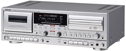 TEAC CD recorder / cassette deck Silver AD-RW950-S