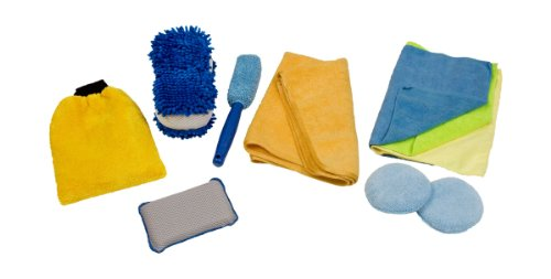 Detailer's Choice 1121 Microfiber Cleaning Kit – 10 Piece