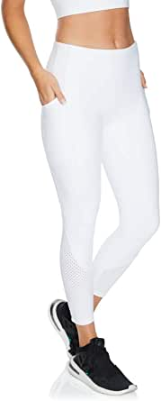 Rockwear Activewear Women's Ag Perforated Tight from Size 4-18 for Ankle Grazer High Bottoms Leggings + Yoga Pants+ Yoga Tights