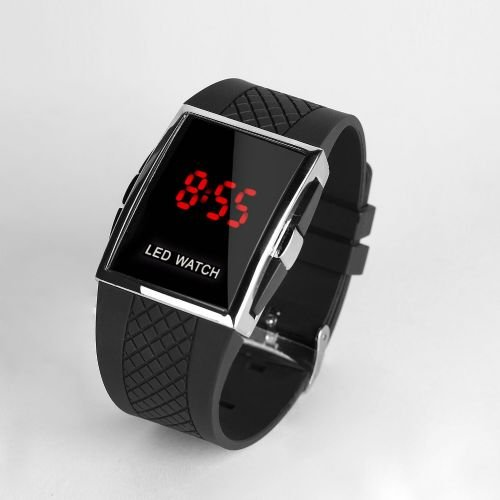 Reloj LED WATCH Negro