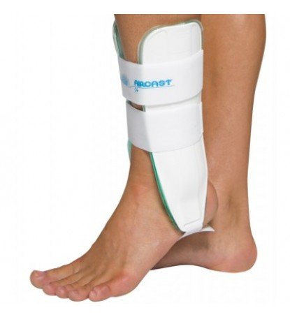 Aircast Air-Stirrup Ankle Support Brace, pediatric, Right Foot, X-Small